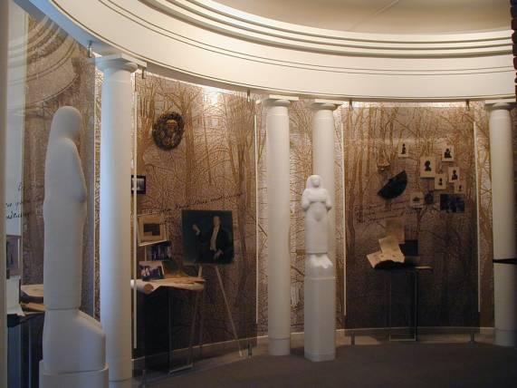 Музей Анны Андреевны Ахматовой в Санкт-Петербурге.